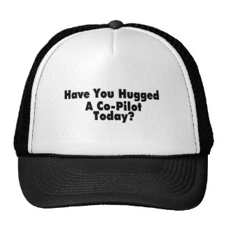 Have You Hugged A Co Pilot Today Trucker Hats