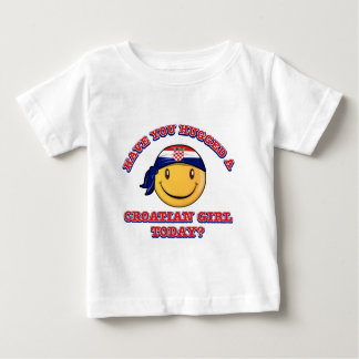Have you hugged a Croatian girl today? Baby T-Shirt