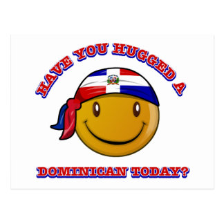 Have you hugged a Dominican today? Postcard