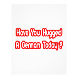 Have You Hugged A German Today? Flyers