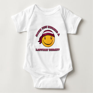 Have you hugged a Latvian today? Baby Bodysuit