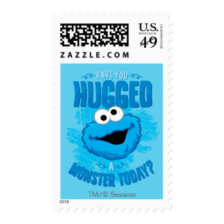 Have You Hugged a Monster Today Stamp