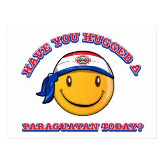 Have you hugged a Paraguayan today? Postcard