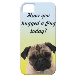 Have you hugged a Pug today? phone case