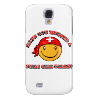 Have you hugged A Swiss girl today? Galaxy S4 Case