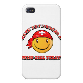 Have you hugged A Swiss girl today? Case For iPhone 4