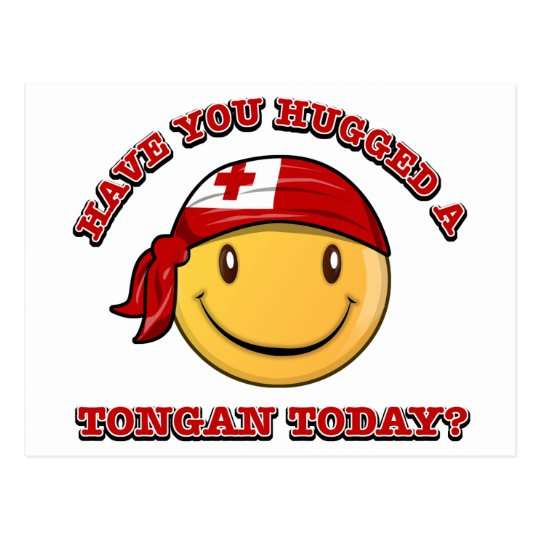 Have you hugged a Tongan today? Postcard