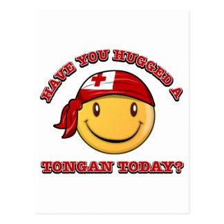 Have you hugged a Tongan today? Postcard