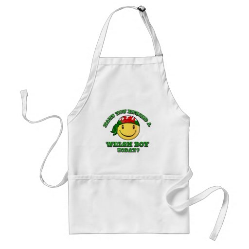 Have you hugged a Welsh boy today? Apron