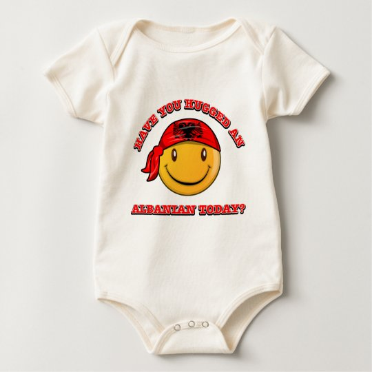 Have you hugged an Albanian today? Baby Bodysuit