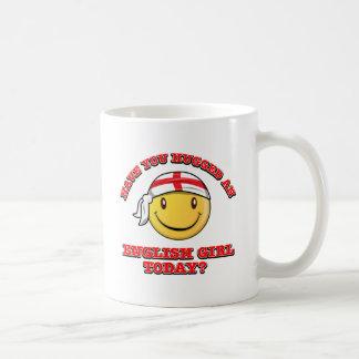Have you hugged an English gorl today? Coffee Mugs