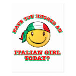 Have you hugged an Italian girl today? Postcards