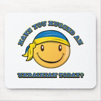 Have you hugged an Ukrainian today? Mousepads