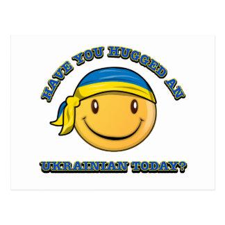 Have you hugged an Ukrainian today? Postcard