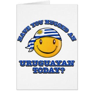 Have you hugged an Uruguayan today? Card