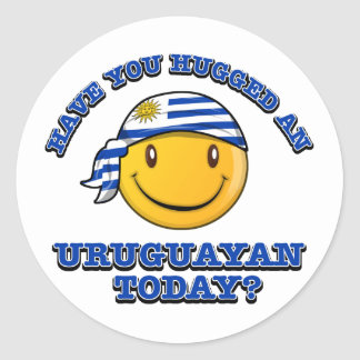 Have you hugged an Uruguayan today? Classic Round Sticker