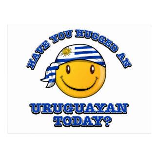 Have you hugged an Uruguayan today? Postcard