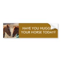 HAVE YOU HUGGED - bumper sticker