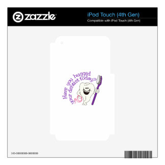 Have You Hugged iPod Touch 4G Decals