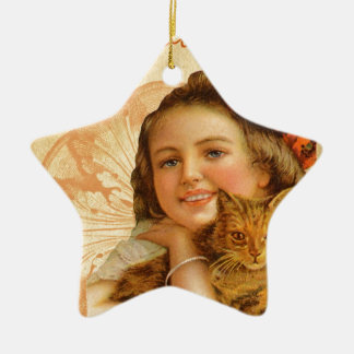 Have You Hugged Your Cat Today Ceramic Ornament