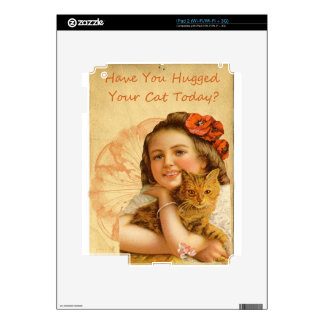 Have You Hugged Your Cat Today Decal For The iPad 2