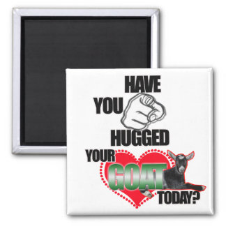 HAVE YOU HUGGED YOUR GOAT TODAY? MAGNET