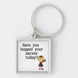 Have You Hugged Your Server Keychain