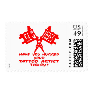 Have You Hugged Your Tattoo Artist Today Postage