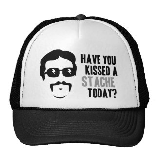 Have You Kissed a Stache Today Trucker Hat