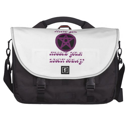 Have you kissed your witch today? Lappy Bag Laptop Bag