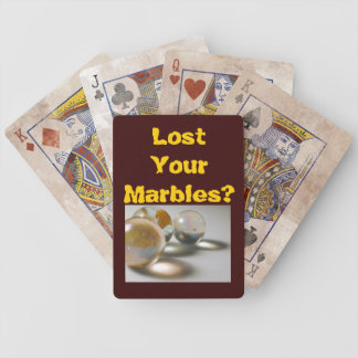 Have You Lost Your Marbles? Bicycle Playing Cards