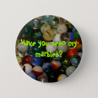 Have you seen my marbles? pin