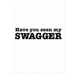 Have You Seen My Swagger Postcard