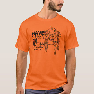 Have you seen this India:: Rickshaw Puller T-Shirt