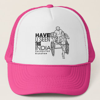 Have you seen this India:: Rickshaw Puller Trucker Hat