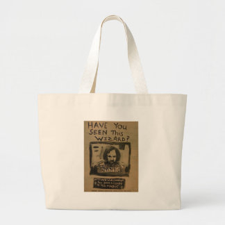 Have You Seen This Wizard? Large Tote Bag