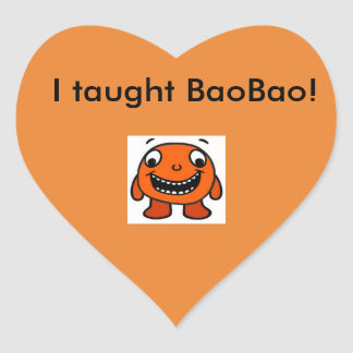 Have you taught BaoBao? Get the Sticker