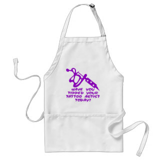 Have You Tipped Your Tattoo Artist Today Adult Apron