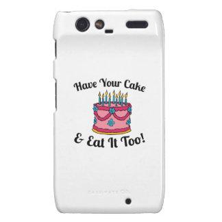Have your Cake Droid RAZR Cases