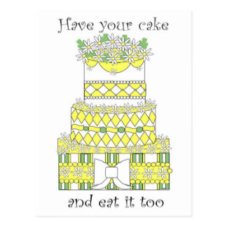 Have Your Cake Postcard