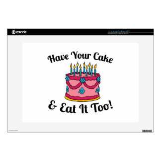 Have your Cake Decals For Laptops