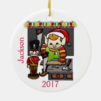 Have Your Elf A Merry Little Christmas Ceramic Ornament