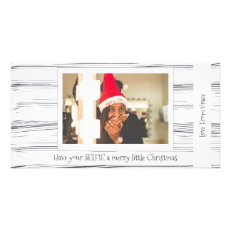 Have Your Selfie A Merry Little Christmas Card