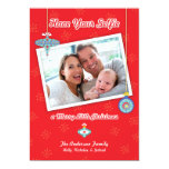 Have Your Selfie a Merry Little Christmas Card Personalized Invitations