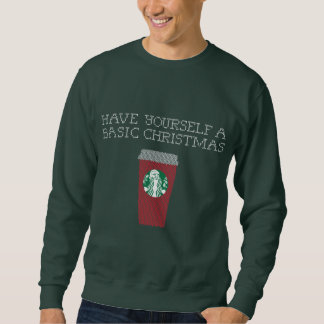 'Have Yourself a Basic Christmas' Men's Sweater
