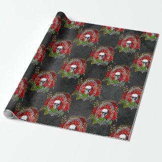 Have Yourself a Gothic Little Christmas Wrapping Paper