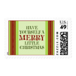 Have Yourself  a Merry Little Christmas (medium) Postage Stamps