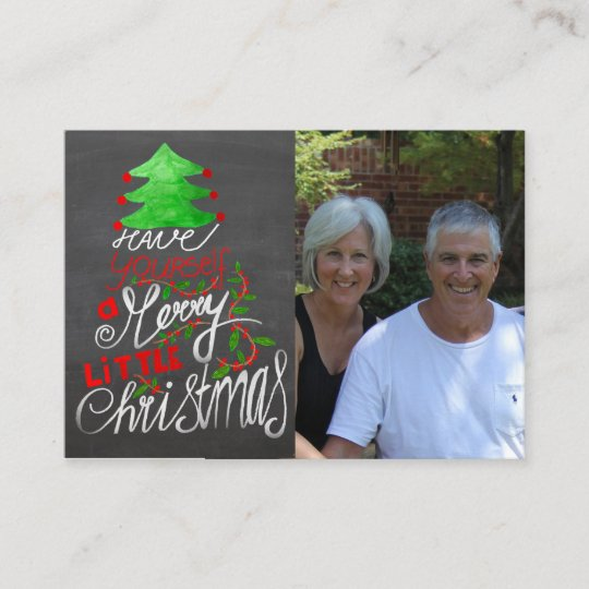 Have yourself a merry little Christmas Photo card | Zazzle.com