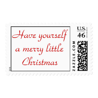 Have yourself a merry little Christmas Postage