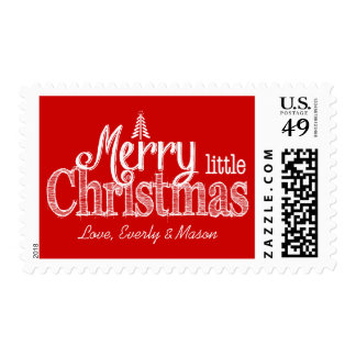 Have Yourself A Merry Little Christmas Stamp